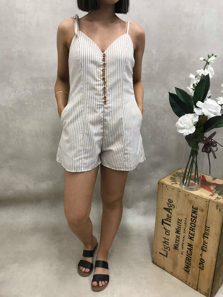 Speaking Fire Playsuit
