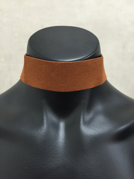 One Of Us Choker - Brown