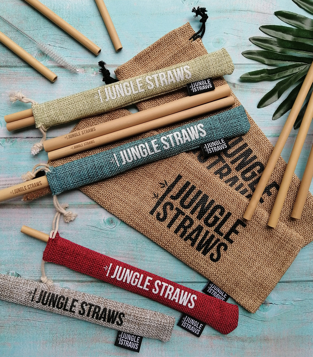 Sustainable bamboo straws handmade in vietnam