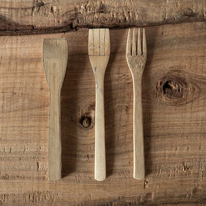 Eco-friendly Organic Bamboo Cutlery