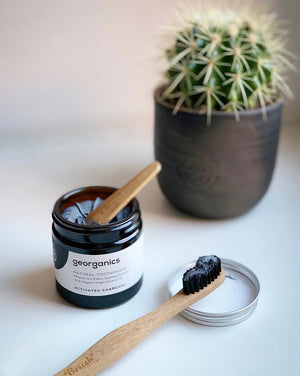 Zerowaste Activated Charcoal Toothpaste