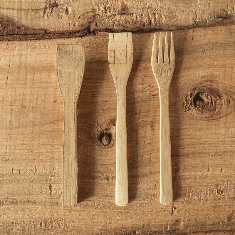 Eco Utensils Bamboo Cutlery