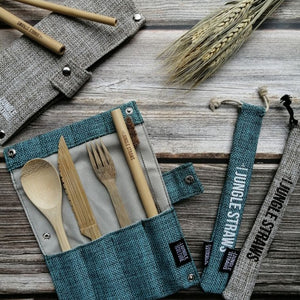 Sustainable Camping Cutlery Set