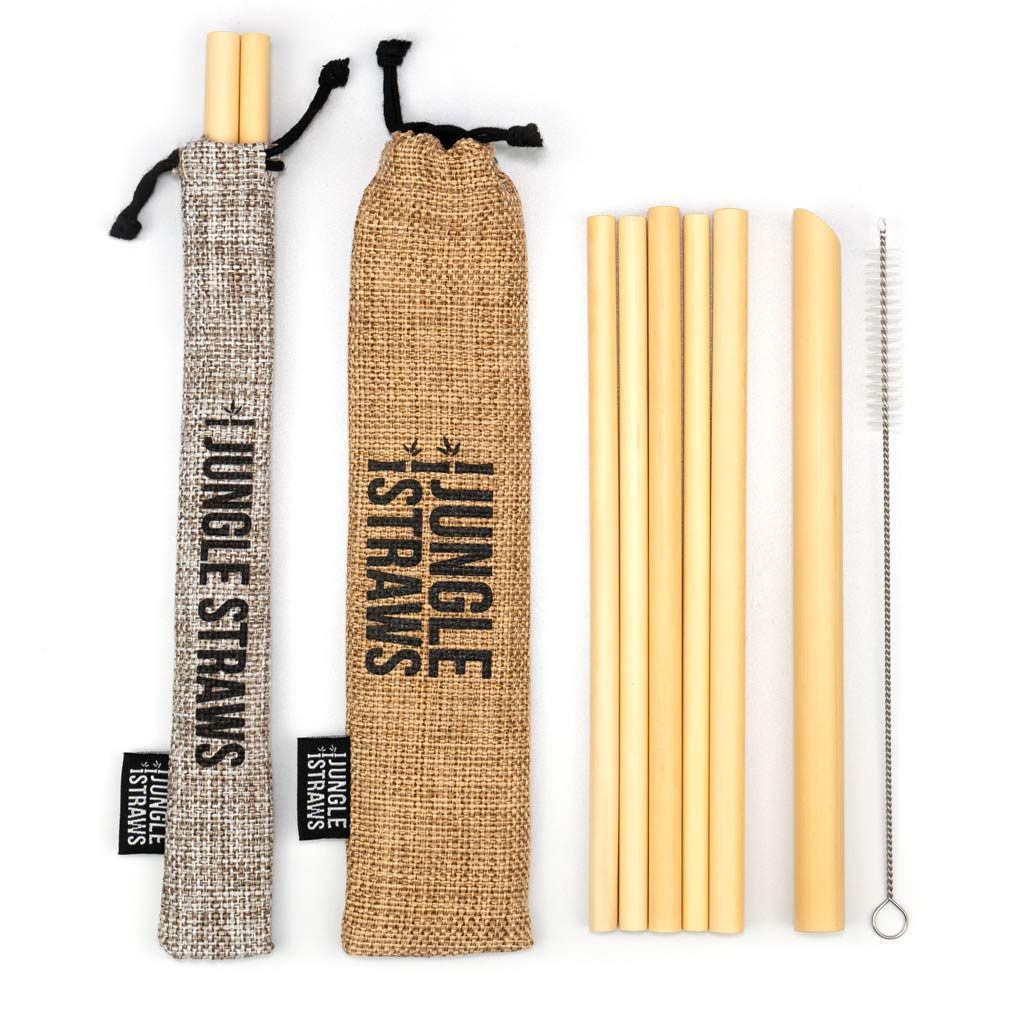 Bamboo Straws & Pouches