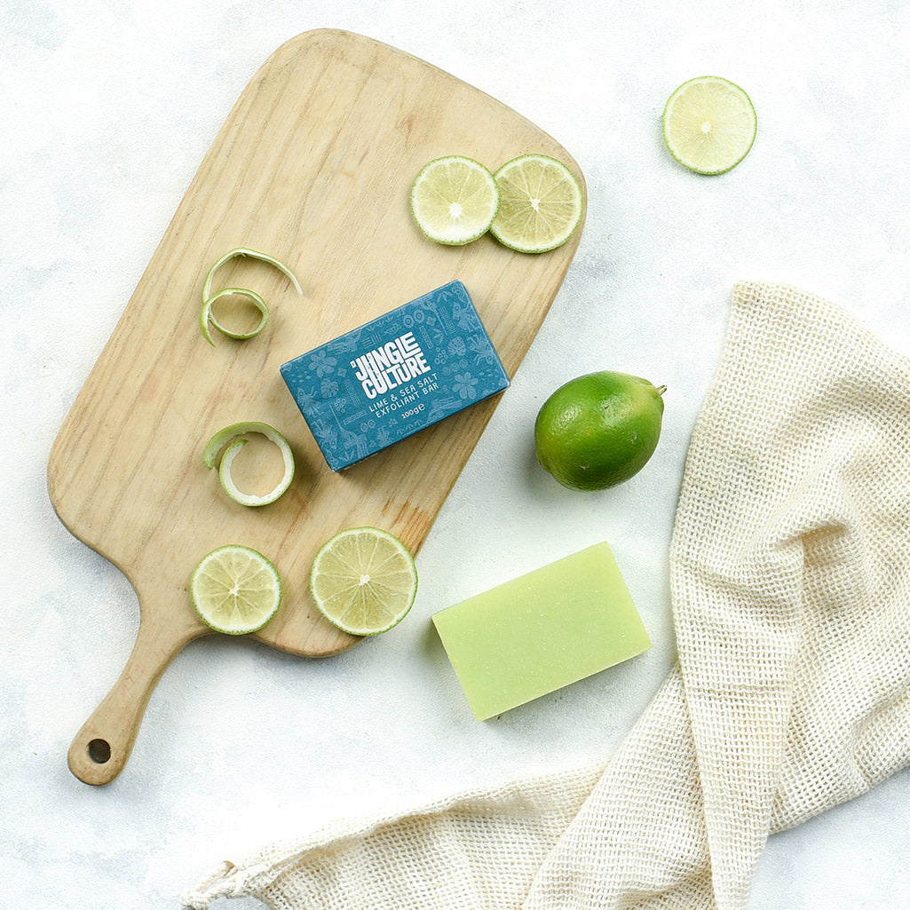 Lime and Sea Salt Exfoliating Soap