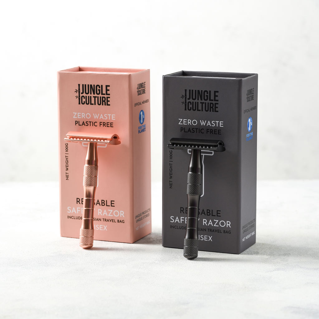 Eco Friendly Reusable Razors by Jungle Culture