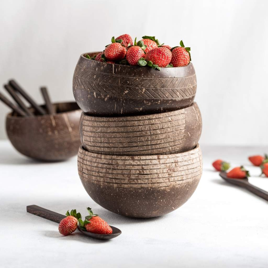 sustainable coconut bowl set uk
