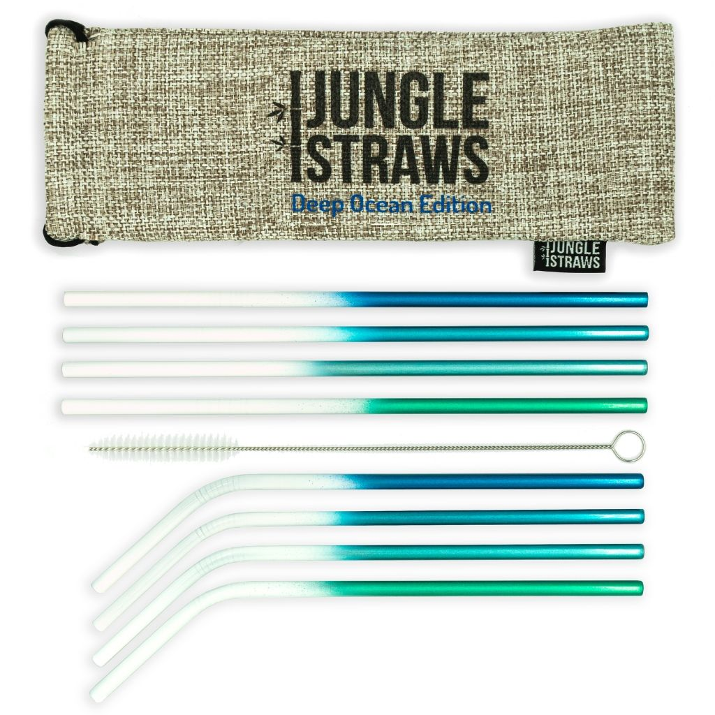 Sustainable Stainless Steel Straws