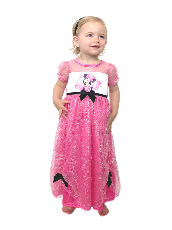 Minnie Mouse Toddler Girls Fantasy Gown Nightgown Pajamas