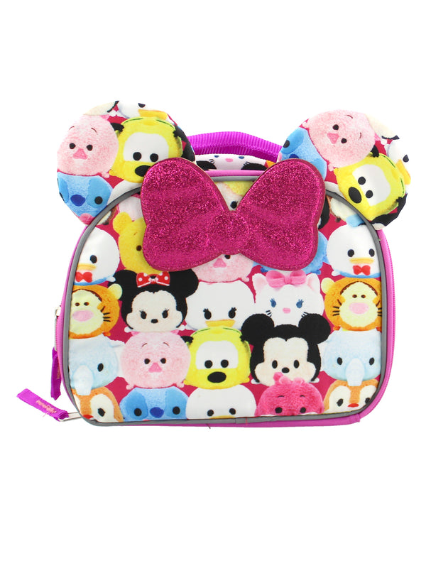 Tsum Tsum Girls Insulated Soft School Lunch Box