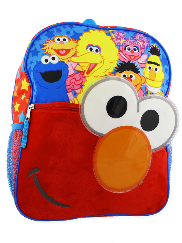 Sesame Street Elmo Toddler Boys 14 inch Backpack