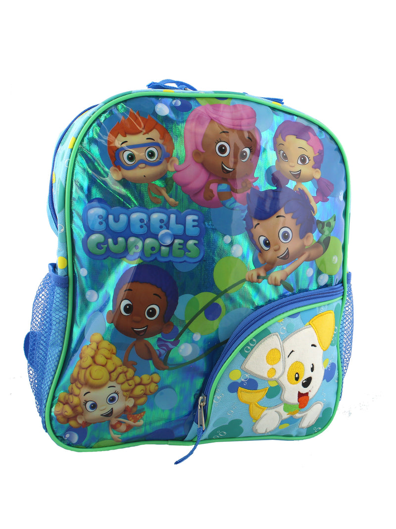 Bubble Guppies Toddler Boys Girls 14 Inch School Backpack