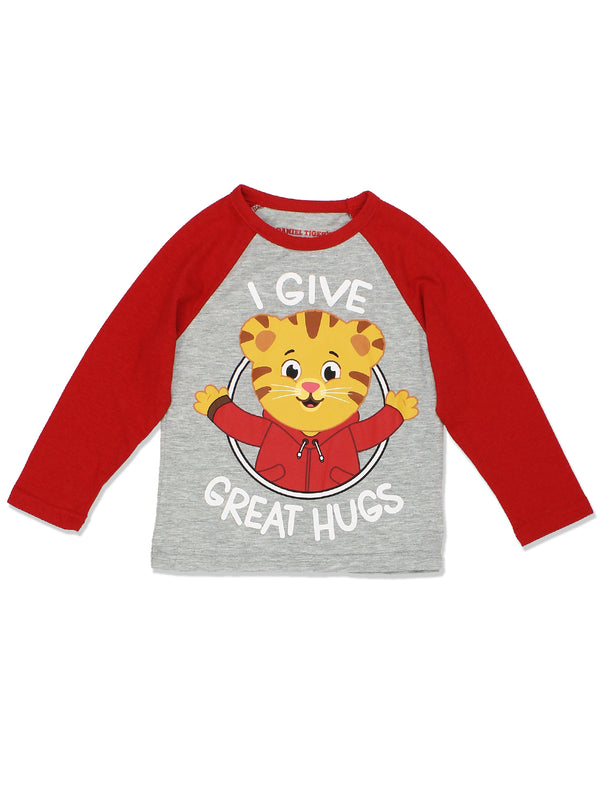 Daniel Tiger Toddler Boys Girls Long Sleeve Tee