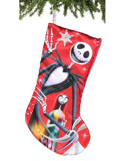Nightmare Before Christmas Jack & Sally Kurt Adler Christmas Holiday Stocking