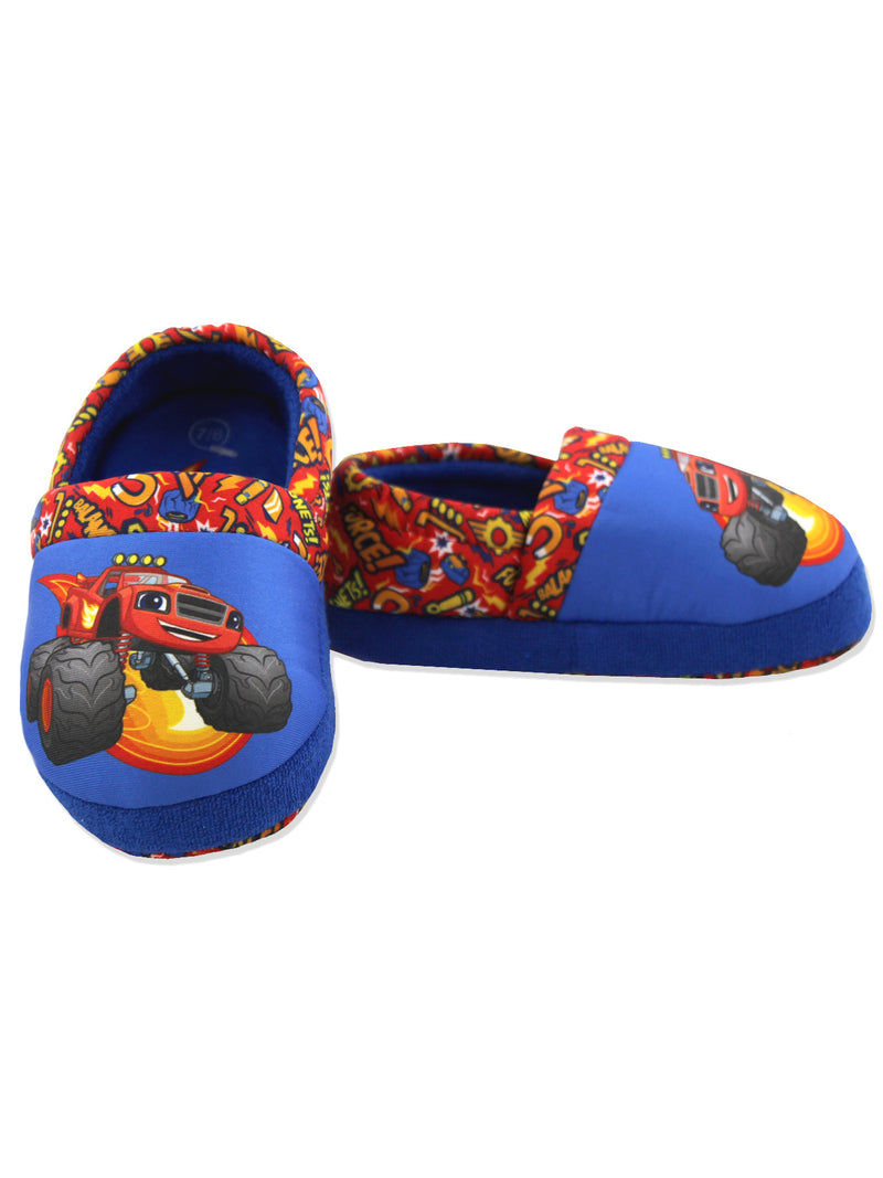 Blaze and the Monster Machines Boys Toddler Plush Aline Slippers