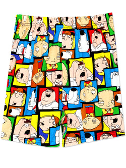 Family Guy Men's Briefly Stated Boxer Shorts Underwear