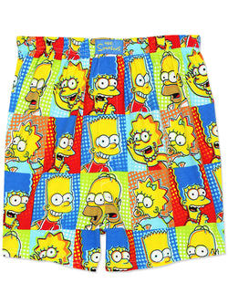 The Simpsons Family Men's Briefly Stated Boxer Shorts Underwear