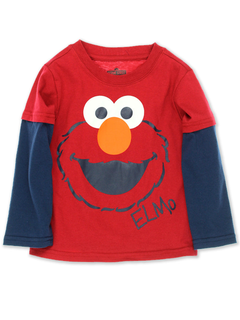 Sesame Street Toddler Boys Long Sleeve T-Shirt