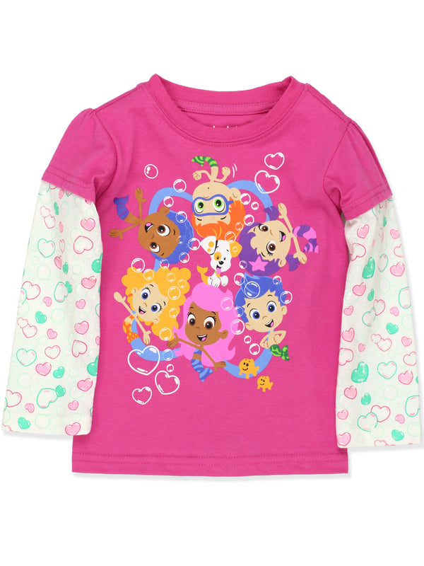 Bubble Guppies Toddler Girls T-Shirt Tee