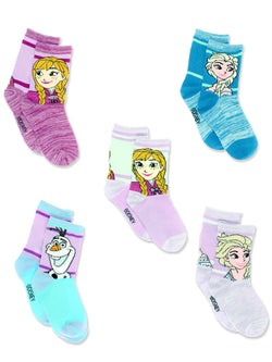 Disney Frozen Girls Toddler Multi Pack Socks Set