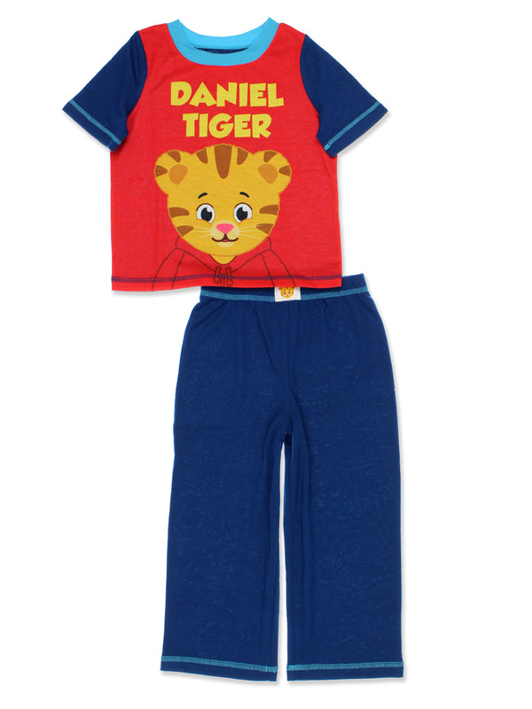 Daniel Tiger Toddler Boys 2 piece T-Shirt and Pants Pajamas Set