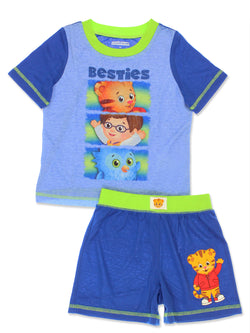 Daniel Tiger Toddler Boys 2 piece T-Shirt and Shorts Pajamas Set