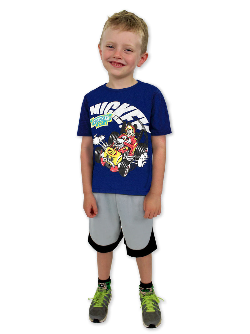 Mickey Mouse and the Roadster Racers Boys Short Sleeve Tee (Baby/Toddler)