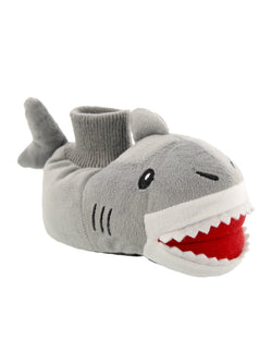 Yankee Toy Box Plush Shark Fish Toddler Boys Girls Sock Top Slippers
