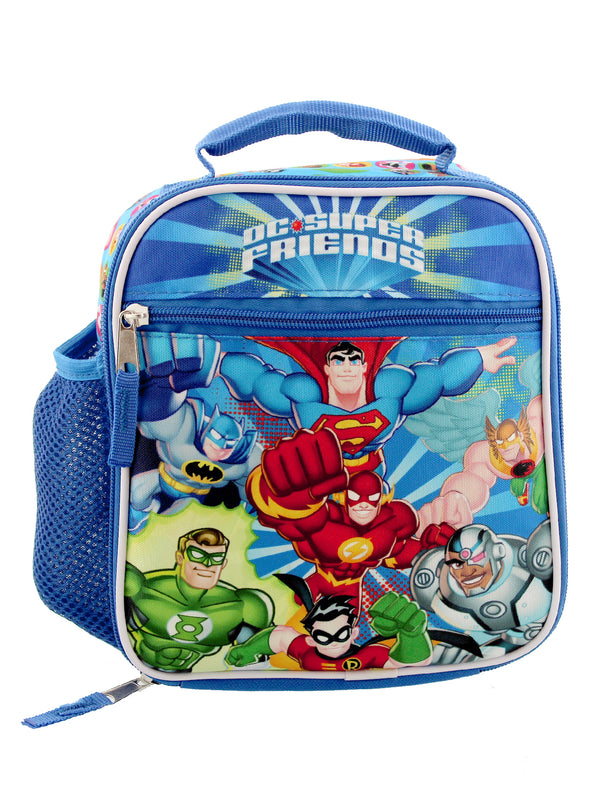 DC Super Friends Boys Soft Insulated School Lunch Box