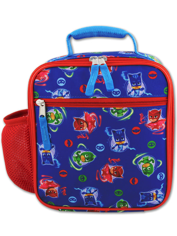 PJ Masks Boy's Girl's Soft Insulated School Lunch Box