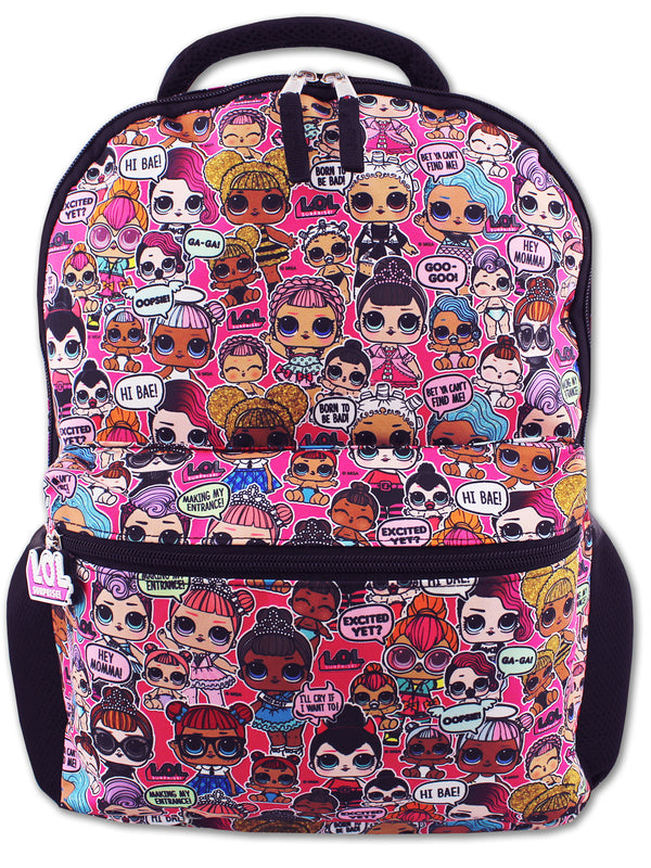 "L.O.L. Surprise! Dolls Girls 16"" School Backpack"