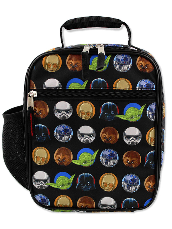 Star Wars Boy's Girl's Adult's Soft Insulated School Lunch Box
