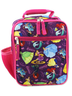Disney Princess Girl's Soft Insulated School Lunch Box