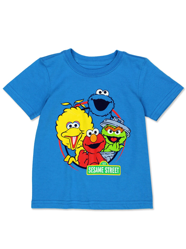 Sesame Street Baby Toddler Boy's Girl's Short Sleeve T-Shirt Tee