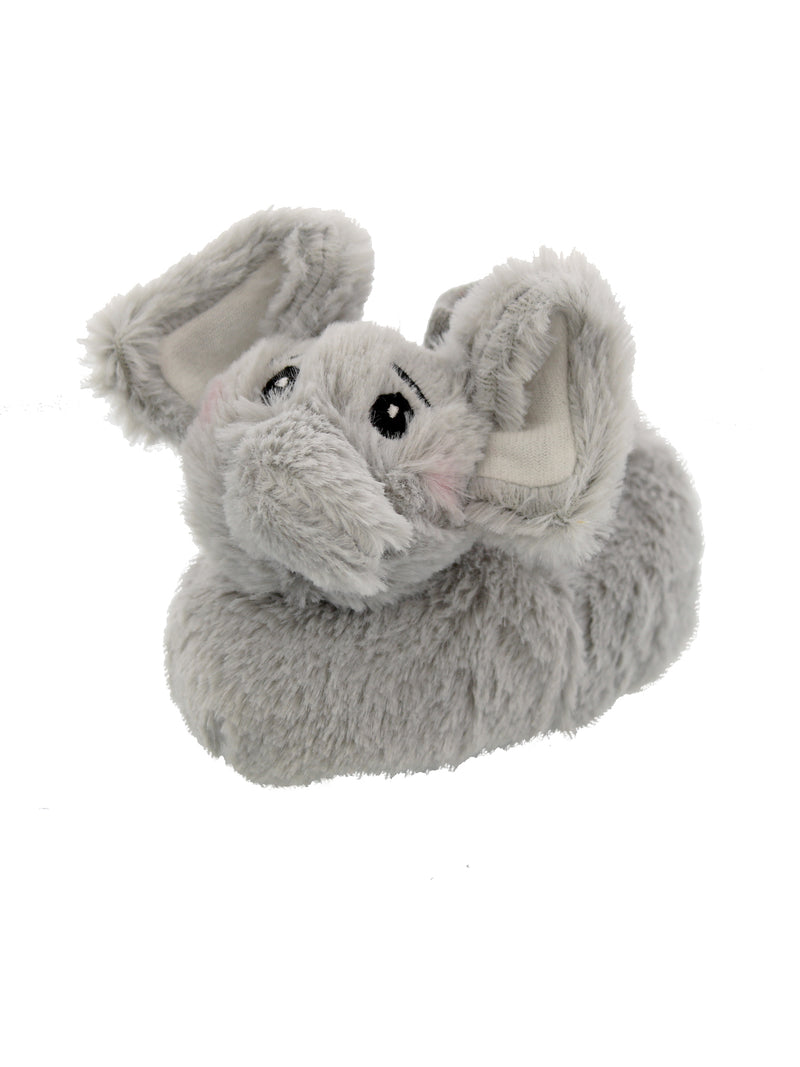 Yankee Toy Box Plush Elephant Toddler Boys Girls Sock Top Slippers