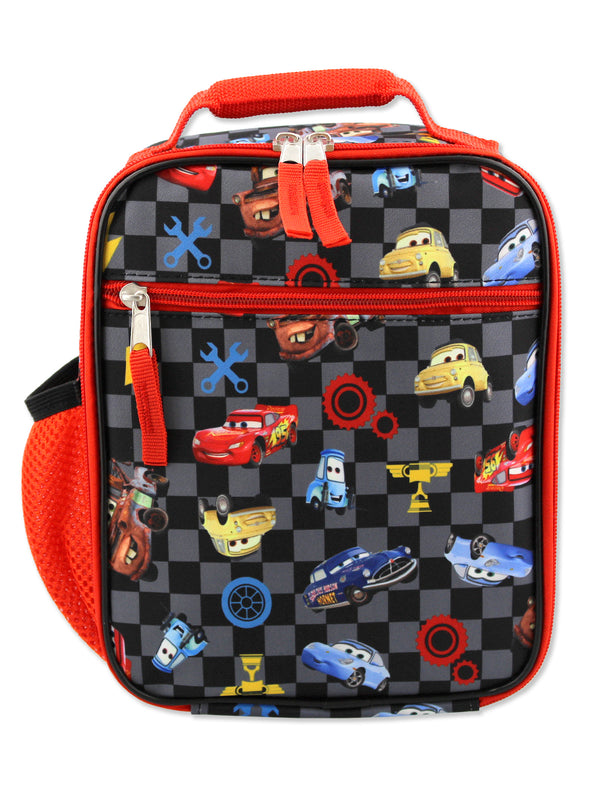 Disney Cars Lighting McQueen Boys Soft Insulated School Lunch Box