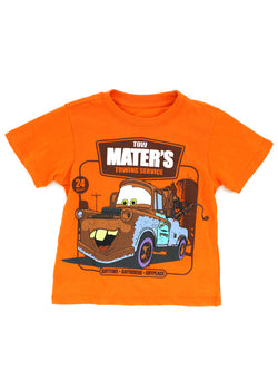 Disney Cars Toddler Boys Short Sleeve T-Shirt