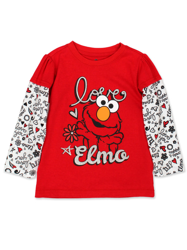 Sesame Street Baby Toddler Girls Long Sleeve T-Shirt
