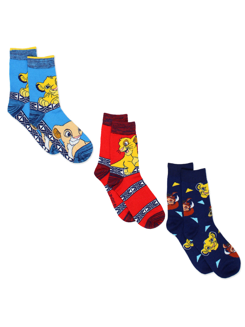 The Lion King Teen Womens Multi pack Socks