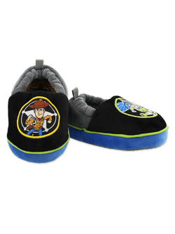 Toy Story Woody Buzz Boys Toddler A-Line Slippers