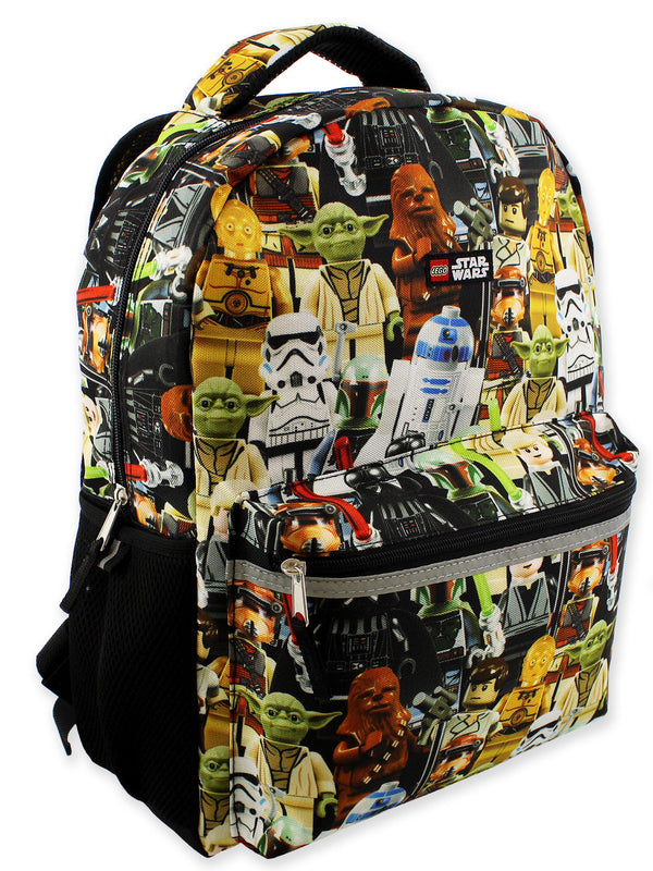 Lego Star Wars Boy's Girl's Adult 16 Inch School Backpack