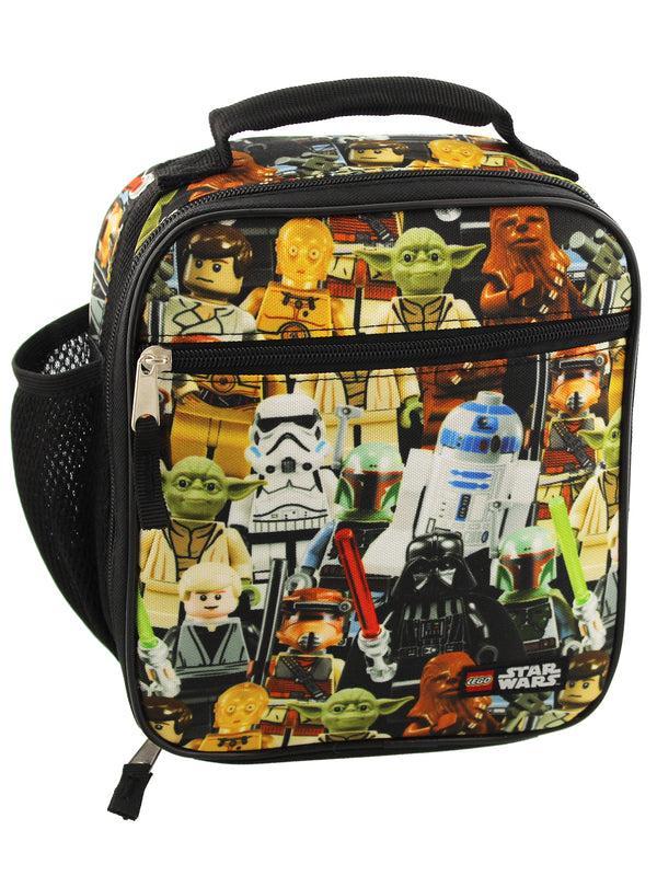 Lego Star Wars Boy's Girl's Adult Soft Insulated School Lunch Box