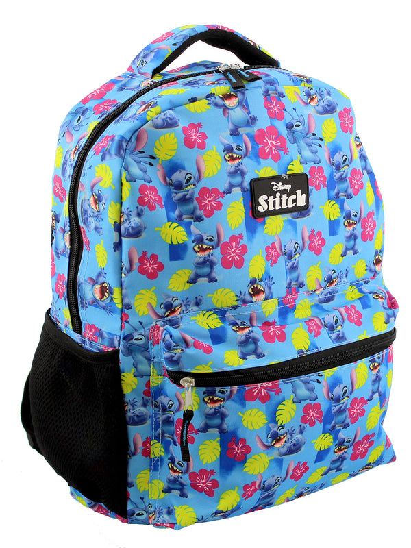 Lilo and Stitch Girl's Boy's Adult's 16 Inch School Backpack Bag