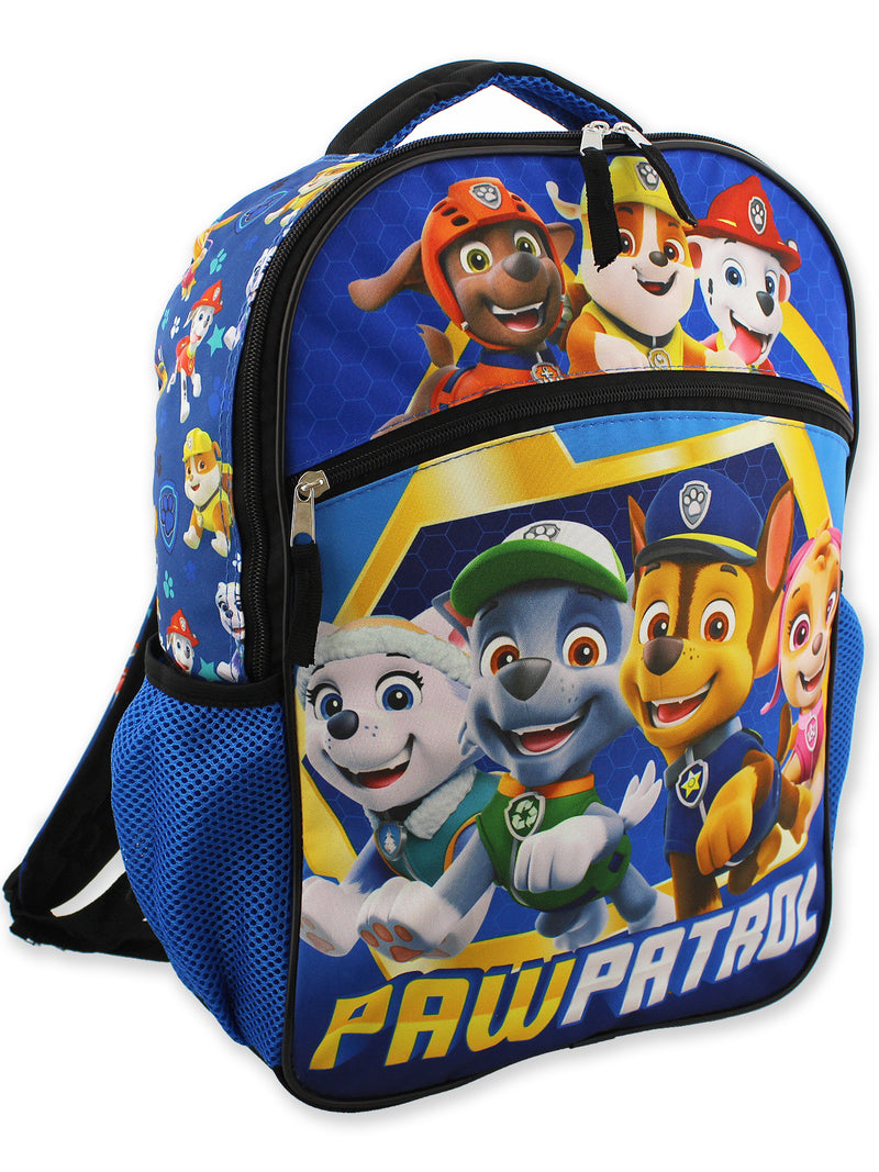 Paw Patrol Pups Boy's Girl's 16 Inch School Backpack