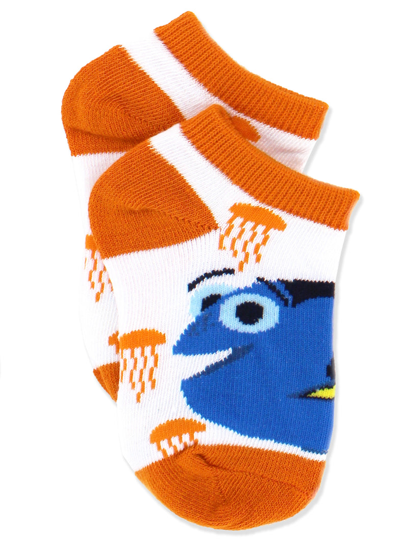Finding Dory Nemo Girls Toddler 5 pack Socks Set