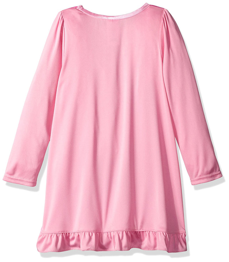 Disney Princess Girls Long Sleeve Nightgown Pajamas