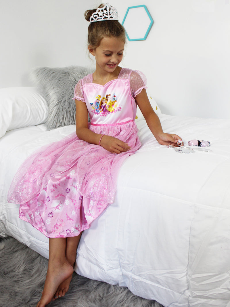 Disney Princess Girls Fantasy Nightgown Pajamas