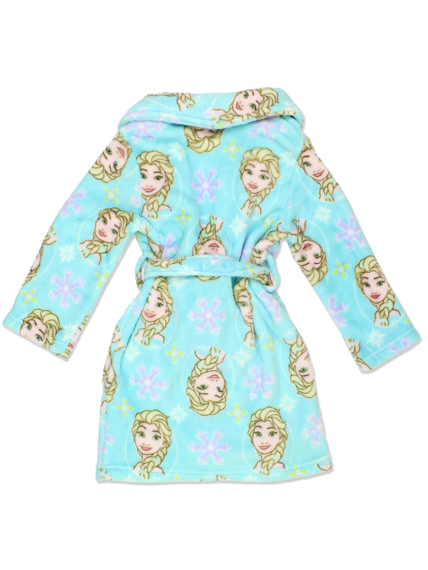 Frozen Elsa Girl's Fleece Bathrobe Robe