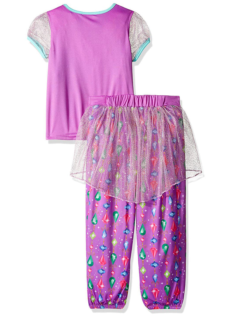 Shimmer and Shine Girls Fantasy Costume Pajamas Set