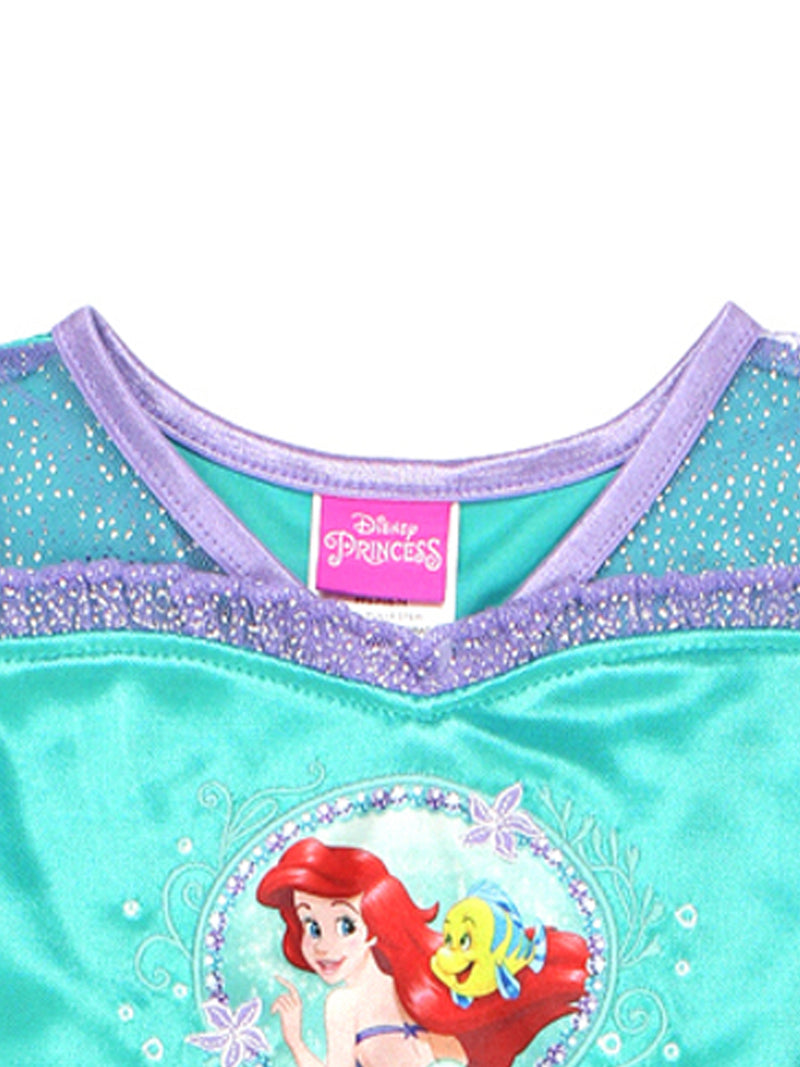 The Little Mermaid Ariel Toddler Girls Fantasy Gown Nightgown Pajamas